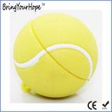 Disque de flash USB de PVC de bille de tennis (XH-USB-158)