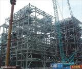Taller prefabricado del coche de la estructura de acero