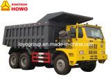420HPのディーゼルHOWO 70t 6X4鉱山のダンプトラック