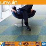 Azulejo de suelo auto-adhesivo del PVC de la alfombra de la oficina