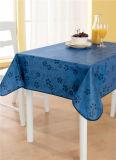 Tablecloth impresso PVC barato plástico não tecido Tj0093 do revestimento protetor de tela