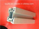 T5 6063 a personnalisé le profil d'alliage anodisé parargent en aluminium d'extrusion