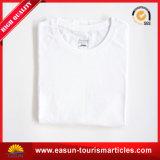Maglietta di modello il più in ritardo stampata del poliestere di bianco del commercio all'ingrosso 100%
