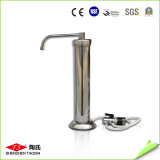 Épurateur de l'eau monté par robinet d'acier inoxydable