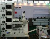 Autoadhesivo preimpreso Etiqueta intermitente de corte longitudinal y rotatorio máquina troqueladora