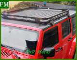 Het Rek van het Dak van het Aluminium van Wrangler 07-16 voor Jeep 2/4 Deuren