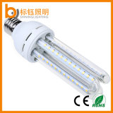 Bulbo energy-saving do milho da luz 2835 SMD da lâmpada do diodo emissor de luz da forma E27 B22 de U