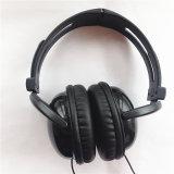 Nuevo receptor de cabeza de la venda del diseño que hace ABS el auricular de cuero material