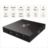 Amlogic S905X 2GB 16GB人間の特徴をもつTVボックスX96 DVB S2セットトップボックス