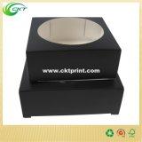Caja blanca de la vela del paquete del blanco tres de la laminación para Pacakging al por menor (CKT-PB-100)