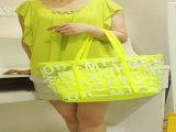 Изготовленный на заказ мешок Tote PVC Durable для женщин