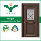Дверь обеспеченностью Tempered двери печатание стеклянной алюминиевая