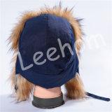 Chapéus do velo do inverno do luxuoso com Earflaps
