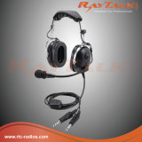 Écouteurs pilotes d'aviation pour des avions d'aile fixe