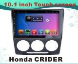 Androïde GPS van de Auto DVD van het Systeem voor Honda Crider het Scherm van de Capacitieve weerstand van 10.1 Duim met TV/WiFi/Bluetooth/MP4