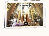 Impression de catalogue de livre À couverture dure de qualité de Perfessional avec l'estampage chaud