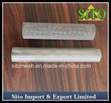 Filtro do cilindro do engranzamento do filtro/fio do engranzamento de fio do aço inoxidável