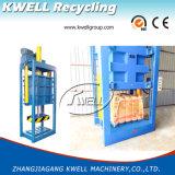 Máquina hidráulica da imprensa da grama/prensa quadrada vertical do feno/máquina de empacotamento da tela