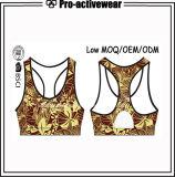 Usura sottile di ginnastica di misura dell'ultimo di disegno reggiseno delle donne con il marchio