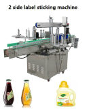 Máquina de etiquetado automática de las Dos-Caras para el barril de la botella
