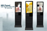 21.5 - Suelo del panel de la pantalla táctil del LCD de la pulgada que coloca el quiosco del monitor de la pantalla táctil del indicador digital