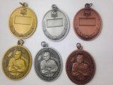 De Geplateerde Medaille van de douane Goud, het Kenteken van het Metaal (gzhy-kenteken-001)