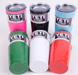 O pó colorido revestiu um Rambler mais fresco 20oz do Yeti do copo, Tumbler isolado vácuo 20oz do Yeti da caneca de cerveja do veículo do aço 304 inoxidável