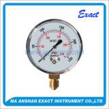 Manómetro de Manómetro-Mbar da micro Manómetro-Cápsula Manómetro-Baixo
