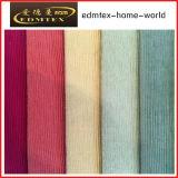 Tela 100% de matéria têxtil gravada do poliéster de veludo (EDM5126)