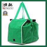 Non-Woven Folding Warenkorb Trolley Grocery Verpackung Tasche