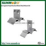 물결 모양 금속 지붕 EPDM 고무 틈막이를 가진 태양 마운트 장비