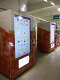 Distributeur automatique de publicité commerciale d'écran tactile