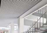 Perfortedの格子タイルの現代天井デザイン外部の装飾的