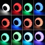Indicatore luminoso di lampadina senza fili astuto di E27 12W RGB Bluetooth LED