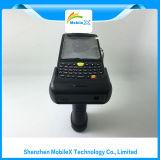 Colector de datos sin hilos con el explorador del código de barras, programa de lectura de RFID, PDA industrial
