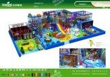 Kaiqi caçoa o anúncio publicitário qualificado e personalizou o campo de jogos interno