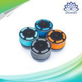 흡입 컵과 LED 빛 Bluetooth 소형 스피커