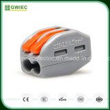 Conetor impermeável fêmea masculino do terminal do fio do fabricante de Gwiec China