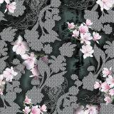 Tela de seda impressa Digitas nova feita sob encomenda do Crepe da alta qualidade do projeto