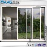 Portelli scorrevoli di vetratura doppia dell'alluminio termico della rottura & della prova sana