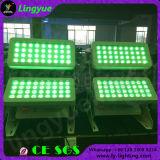 옥외 DMX 72X12W LED 도시 색깔 단계 빛