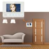 Seguridad teléfono video video de la puerta de Bell de puerta de la pantalla táctil de 7 pulgadas