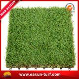 2017 productos que tienden que enclavijan los azulejos artificiales de la hierba