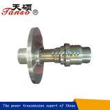 Acoplador de acero del engranaje del flotador de Tanso de la precisión que trabaja a máquina