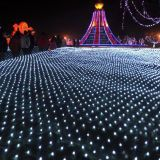2 * 3m 204LED Waterproof LED Net Light avec 8 fonctions de contrôle