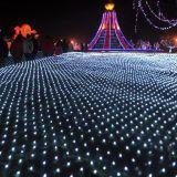 2*3m 204LED는 8개의 기능 통제를 가진 LED 순수한 빛을 방수 처리한다