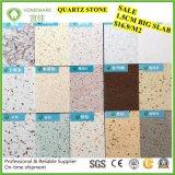 Pedra artificial de quartzo da faísca agradável da alta qualidade da cor