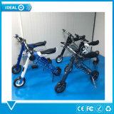 """Ajustableのサドルが付いている電気スクーターのバイクの自転車を折る10 """" 350W"""