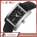 Relógio de fita de couro de quartzo atraente de alta qualidade