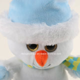 De Pluche van de Giften van Kerstmis vulde het Witte Speelgoed van de Sneeuwman